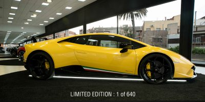 Lamborghini Huracan Performante - Luxury Sport Car Hire