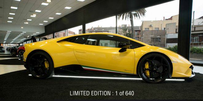 Lamborghini Huracan Performante - Luxury Sport Car Hire