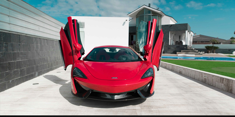 McLaren 570S Luxury Sport Car for Rent