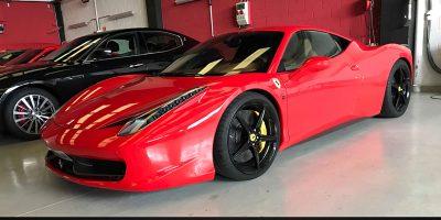 Ferrari 458 Italia - Luxury Car Hire