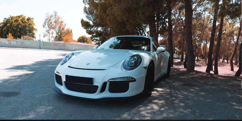 Porsche GT3 Luxury Car Hire in Barcelona