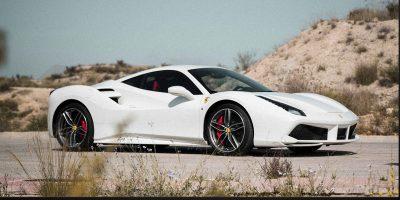 Luxury Ferrari for rent in Barcelona, Ibiza, Valencia